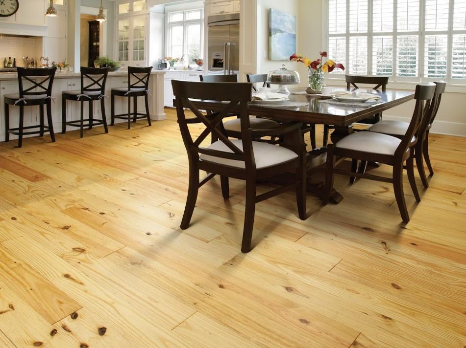 Hardwood Flooring - Transitional - Dining Room ...