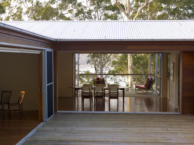 Hardys Bay House contemporary-dining-room