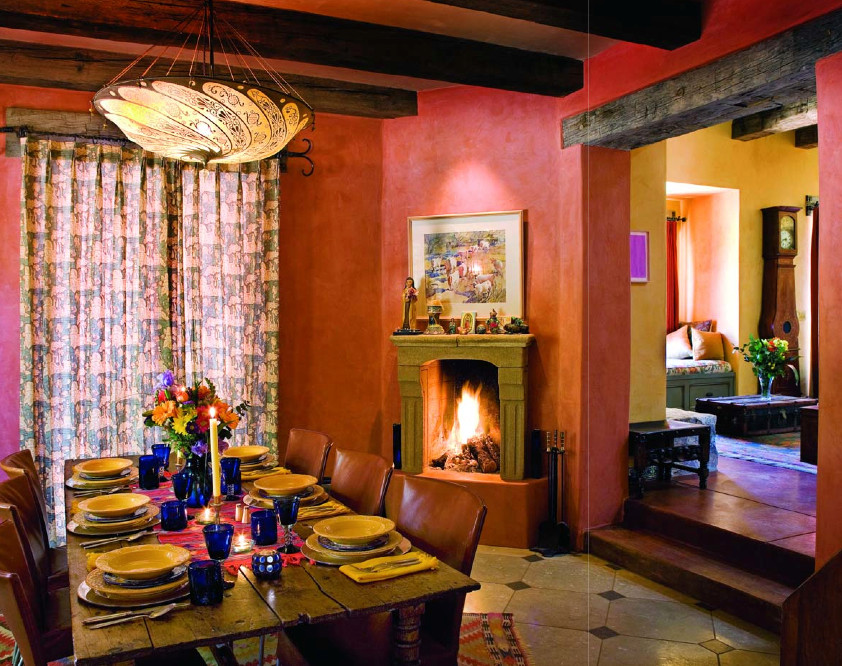 Example of a mid-sized southwest dining room design in Phoenix