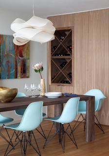 Hartford Remodel - Midcentury - Dining Room - Austin - by Stuart Sampley Architect