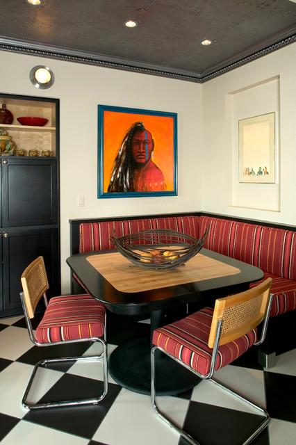 Hatari eclectic-dining-room