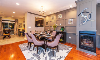 Haverford Homes At Westphalia Row Traditional Dining Room Dc Metro By