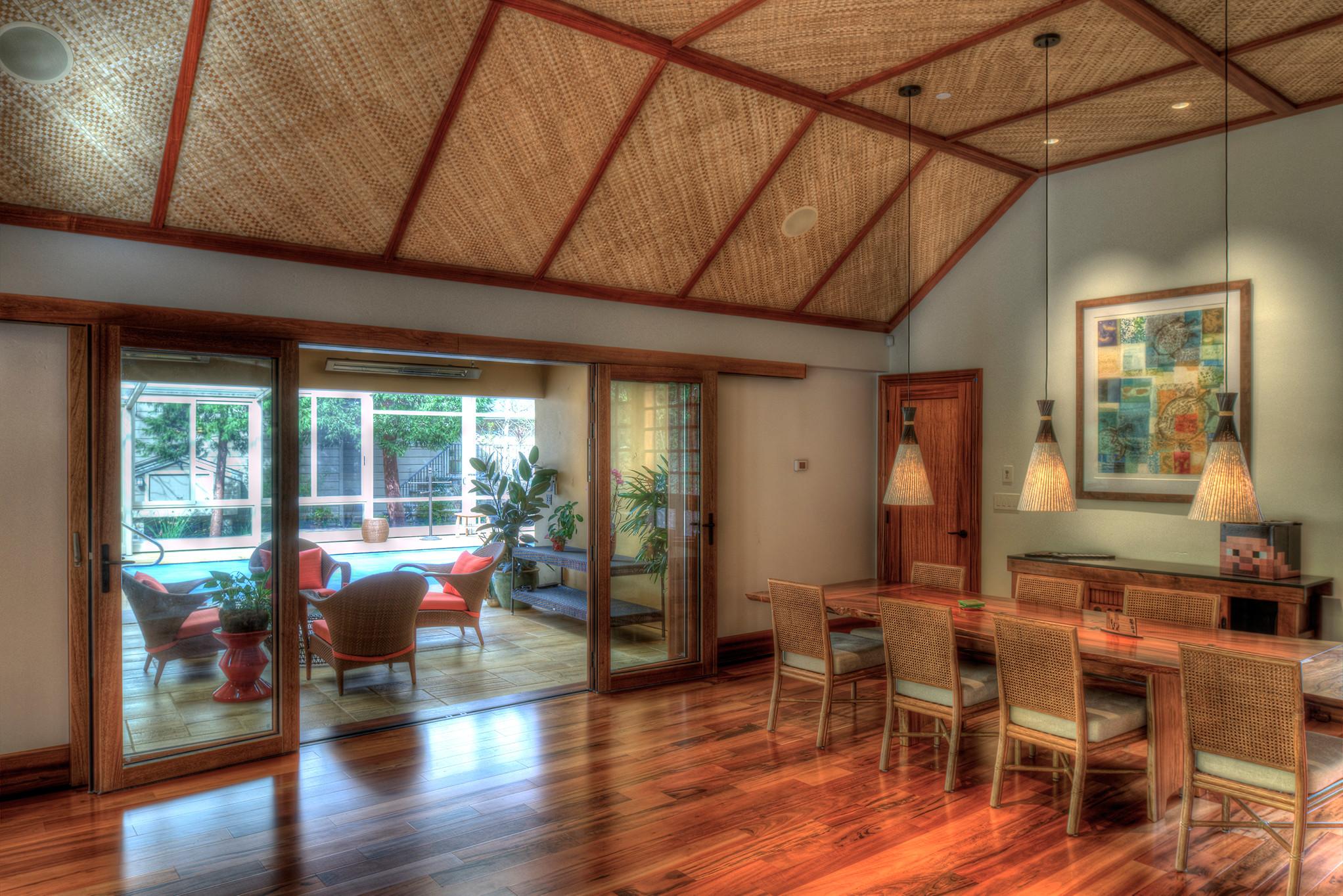 Hawaiian Lanai Pool House