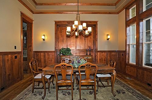 Hawk Point, Castle Rock, CO traditional-dining-room