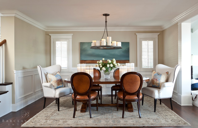 Hazel Drive Beach Style Dining Room Los Angeles By Barclay