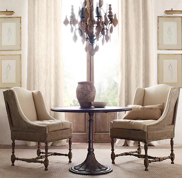 head dining chairs - traditional - dining room