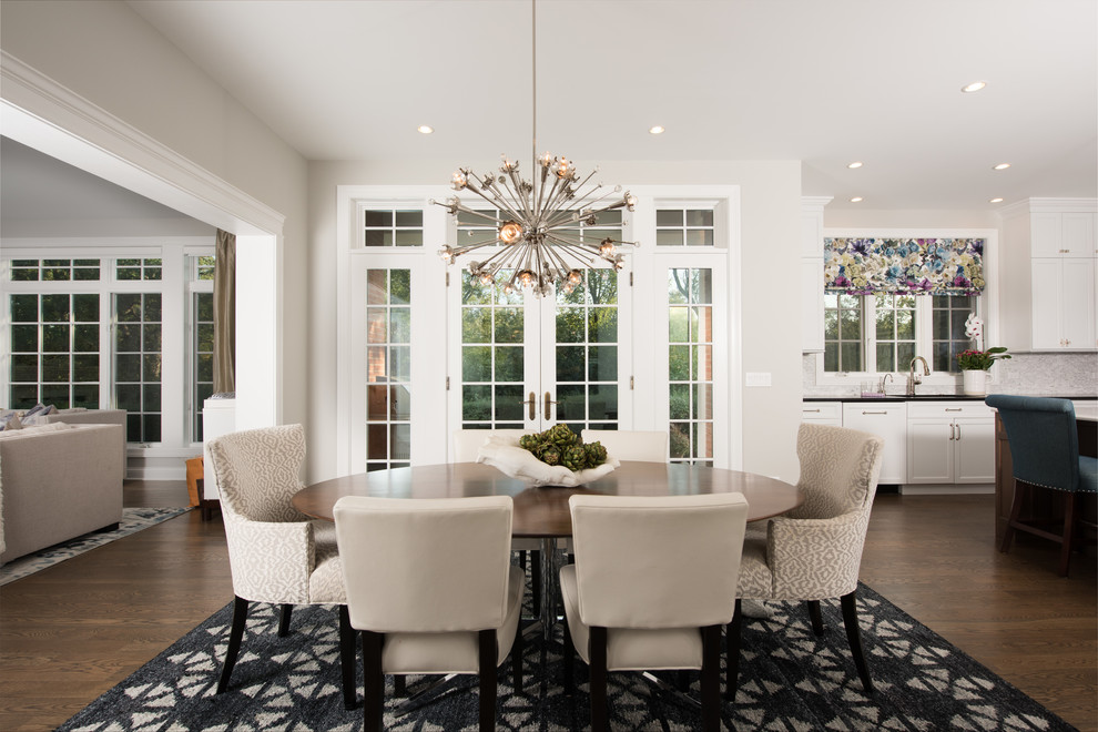 Hemphill Renovation Transitional Dining Room Chicago By A Perry Homes