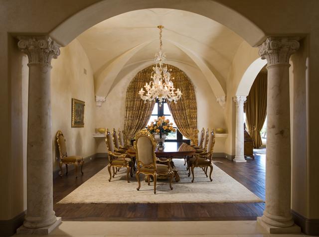 Heritage mediterranean-dining-room