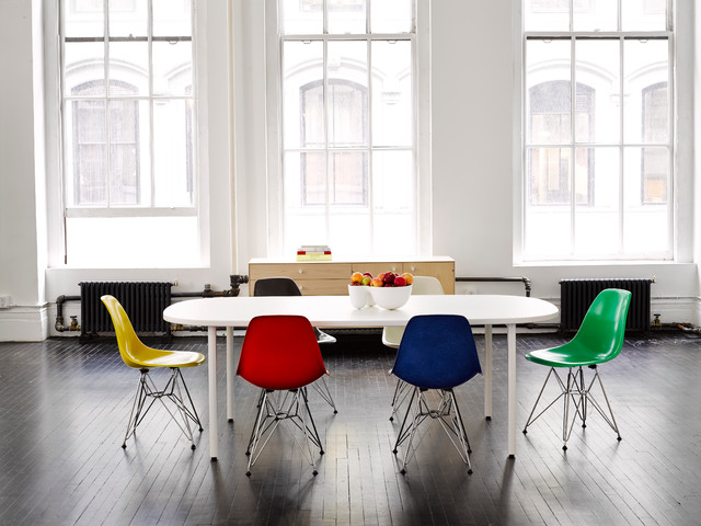 Herman Miller Dining Area Fiberglass, Herman Miller Dining Room Chairs