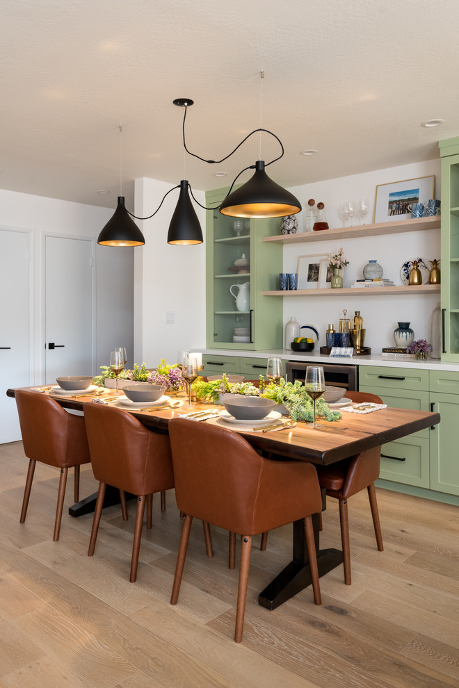 Hgtv Property Brothers Forever Home Transitional Dining Room Other By Creation 7