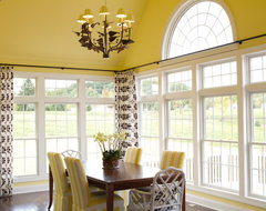 HGTV Showhouse traditional dining room