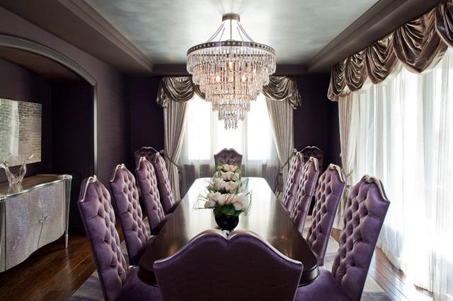 Denise richards residence contemporary dining room for Denise richards home decor