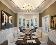 Hidden Hills traditional-dining-room