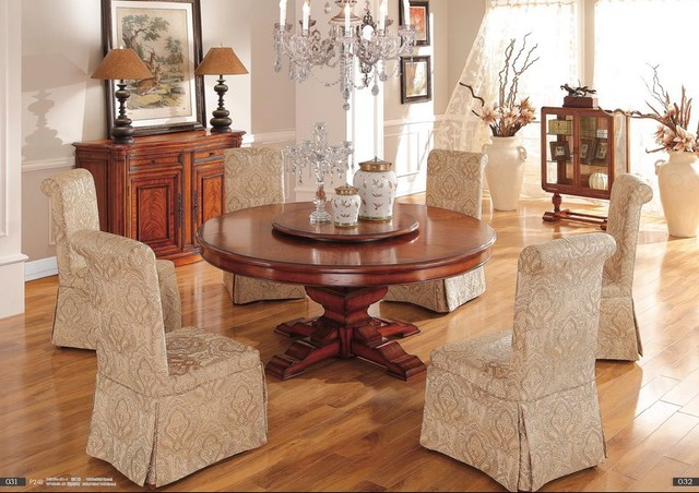 high quality wooden furniture traditional dining room