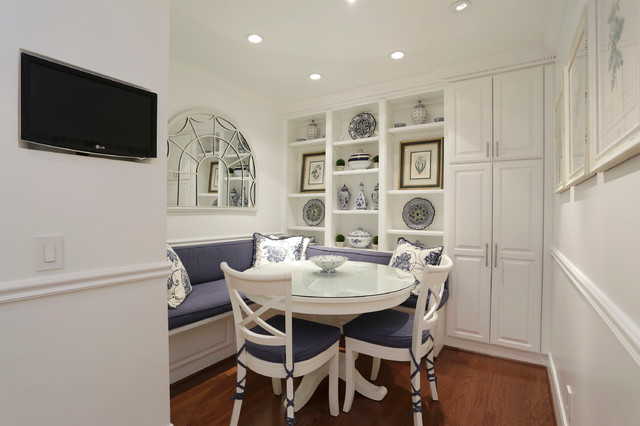 High Rise Single Unit Remodel traditional-dining-room