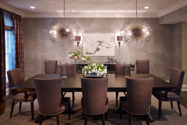Highland Park #8 transitional-dining-room
