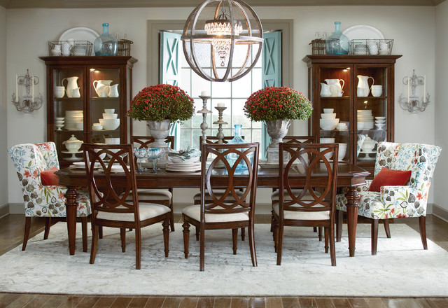highlands dining room by bassett furniture contemporary
