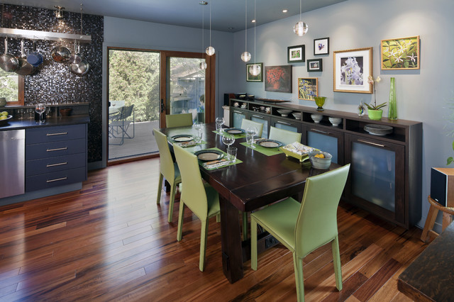 Highlands Kitchen eclectic-dining-room