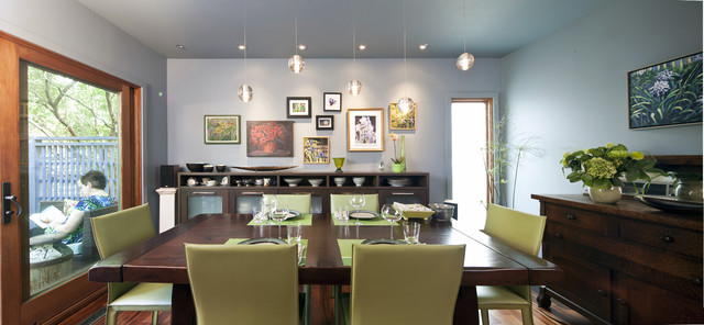 Highlands Kitchen Eclectic Dining Room