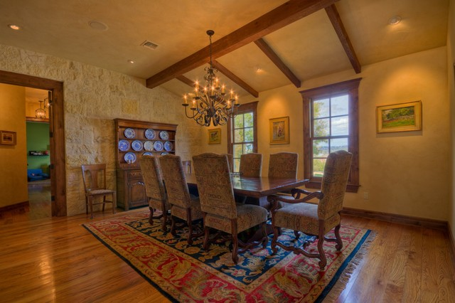 Hill Country Ranch II traditional-dining-room