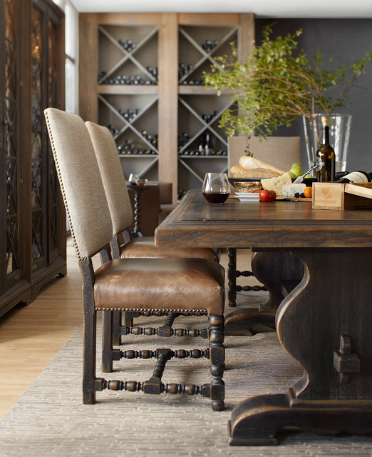 Hill Country Trestle Dining Table From, Hill Country Furniture
