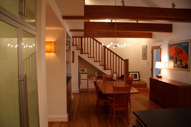 Hill Residence Renovation modern-dining-room