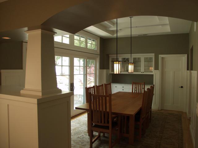 Hillsborough Shingle Style Home traditional-dining-room