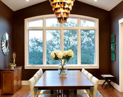 Hillside Estate contemporary dining room