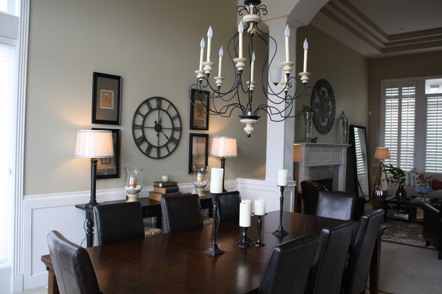 Hilltop Traditional traditional-dining-room
