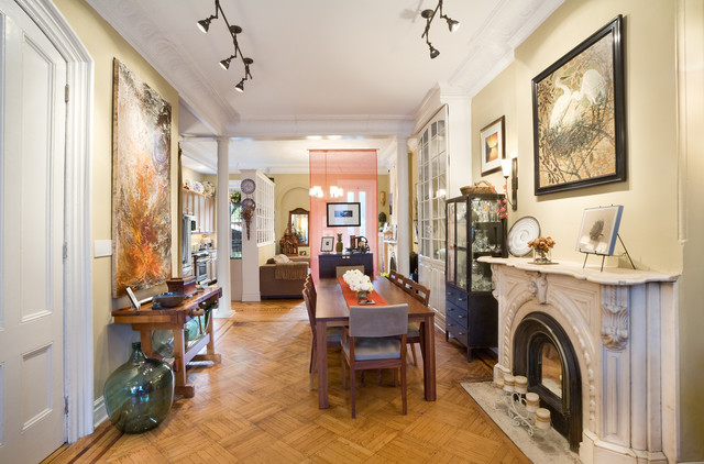 Historic Brownstone Renovation traditional-dining-room