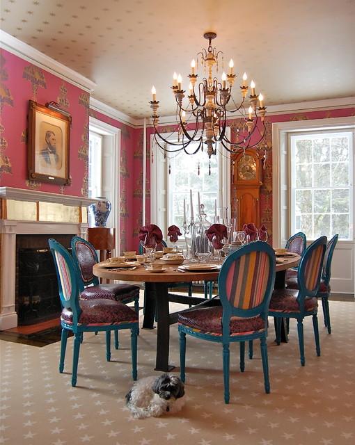 Historic Estate contemporary-dining-room