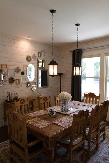 Historic Four Square farmhouse-dining-room