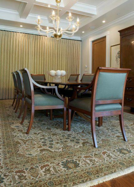 Hjr Rugs 35 In 10 X 14 Traditional Dining Room