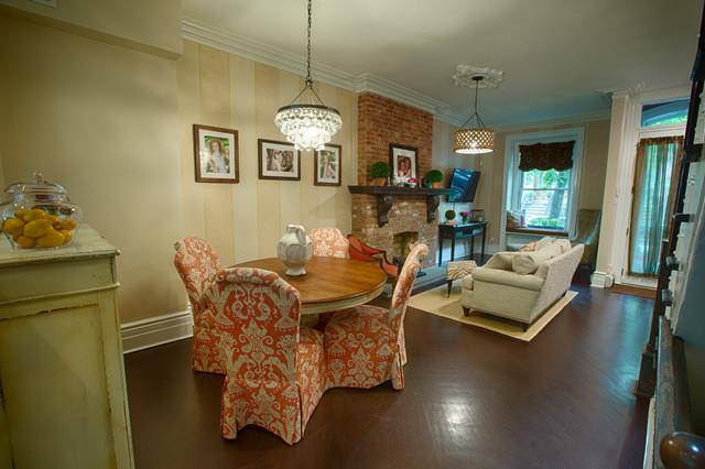 hoboken brownstone traditional dining room