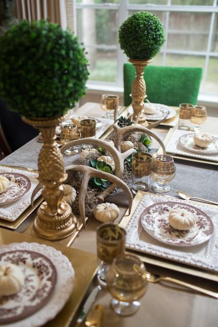 Holiday klassisch esszimmer san francisco von for Dekorieren mit geweihen