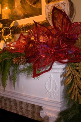 Holiday Decor dining-room