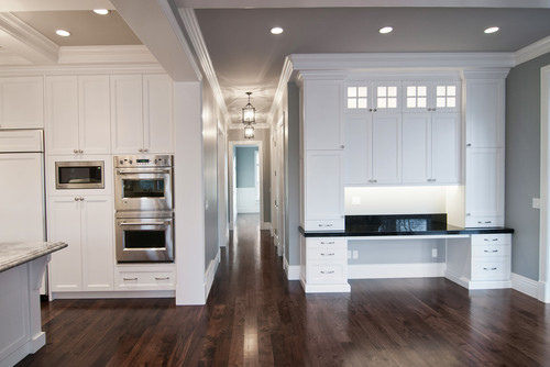 The Box Beams On The Kitchen Ceiling Are Stunning. How High Are These  Ceilings?