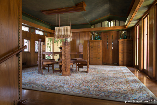 Frank Lloyd Wright Home Dining Room