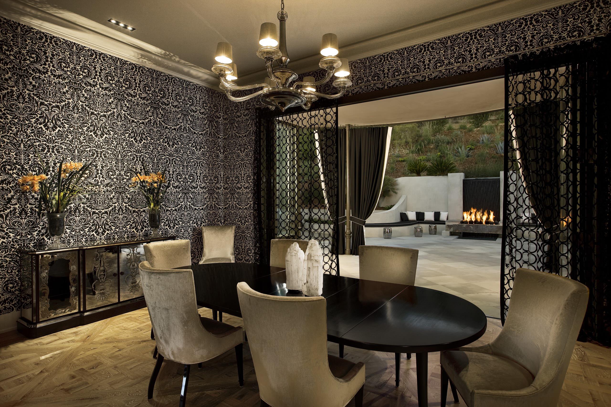 Hollywood Regency Dining Room Houzz
