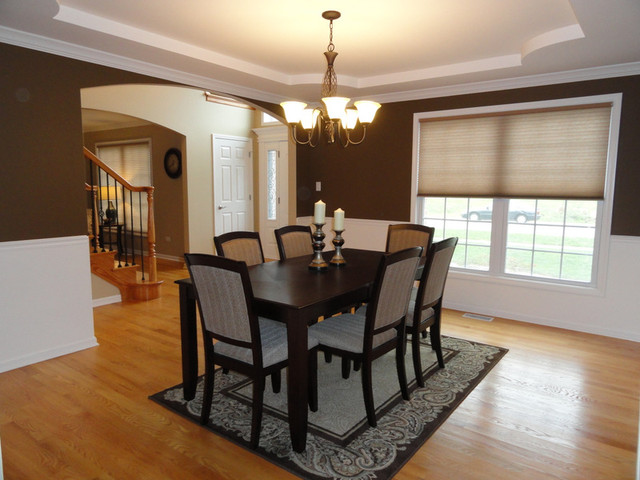 Home Decor Staging Traditional Dining Room Chicago By Kendall Partners Ltd