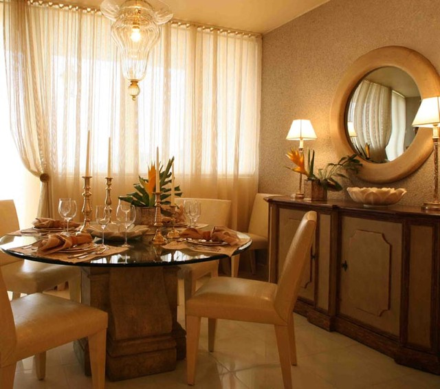 Home in Guaynabo, Puerto Rico tropical-dining-room