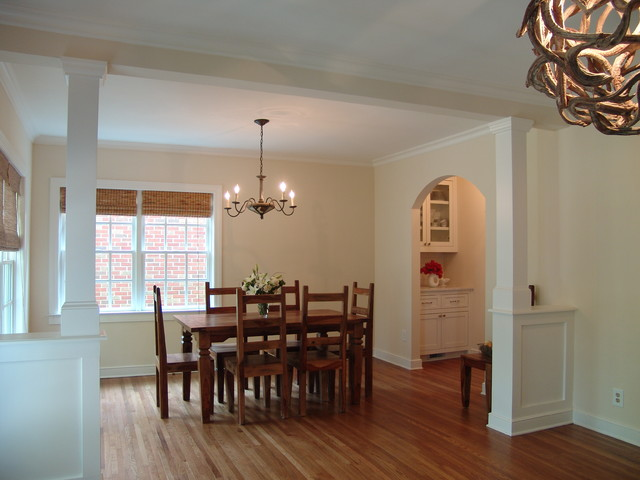 Home Renovation and Addition in Decatur traditional-dining-room