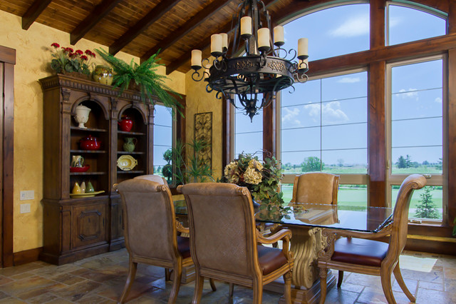 Home Show Expo 2012 rustic-dining-room