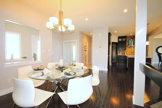Home Staging By Revealing Assets In Vacant Properties Edmonton AB Modern Dining Room