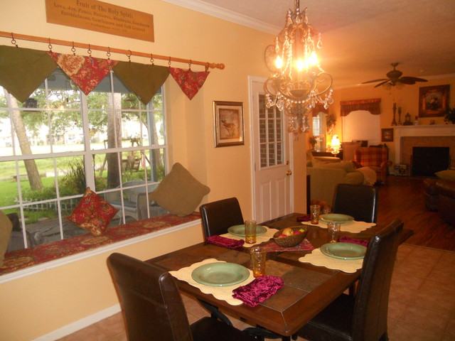 Home Staging Photos Done By Lake Houston Home Staging and Redesign traditional-dining-room