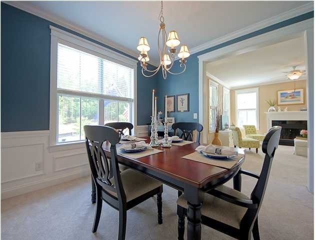 Home sweet home tropical dining room charleston for Tropical dining room