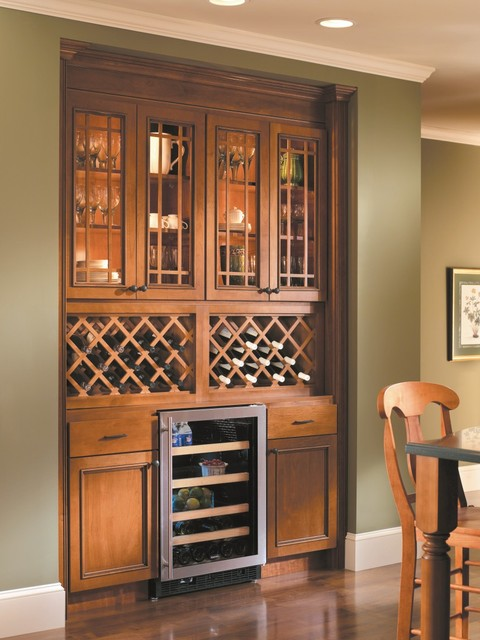 Homecrest Tuscany Cabinets Dining Room Other Metro By MasterBrand Cabin
