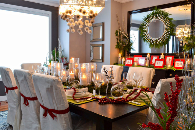Homes for the Holidays 2012- Edmonton traditional-dining-room