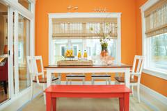 Können Sie Mandarin? Wie Designer Orange als Wandfarbe einsetzen