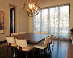 Horseshoe Bay Lakehouse Dining contemporary-dining-room